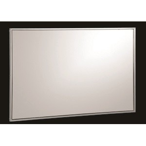 Miroir Cadre Inox 100x80x15 Sanili