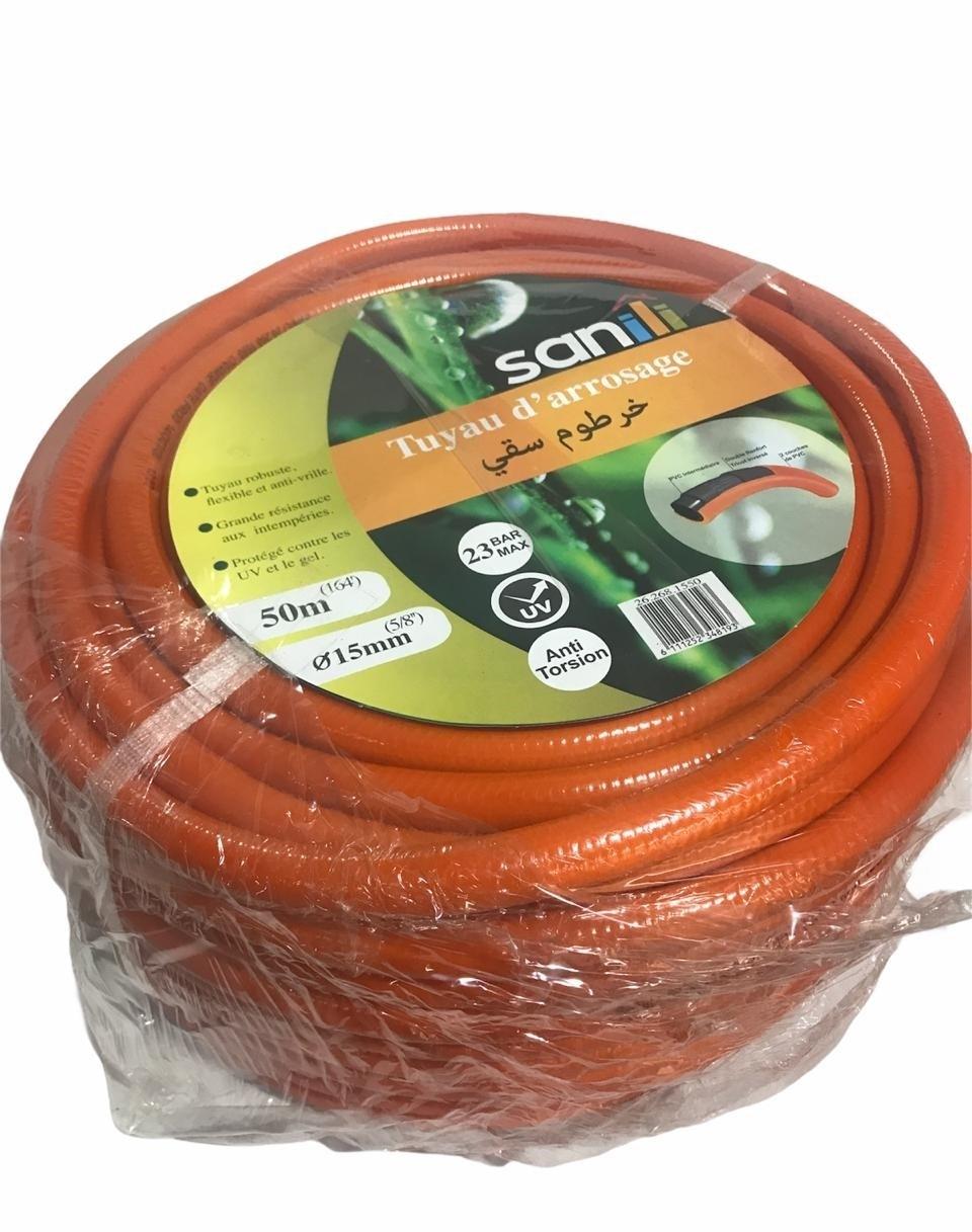 Tuyau D'arrosage Orange 15mm x 50m