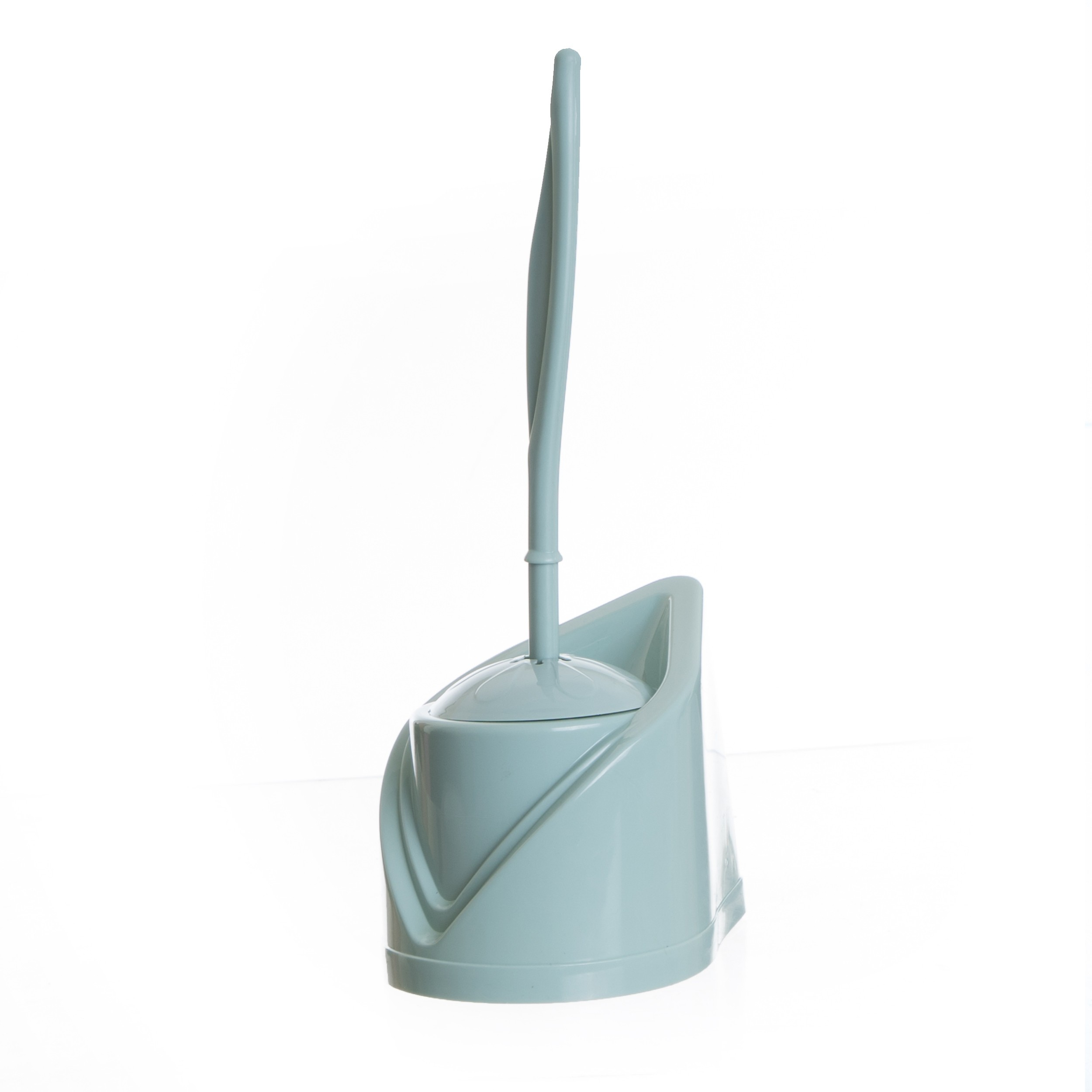 Porte Balai wc en Plastique Vert