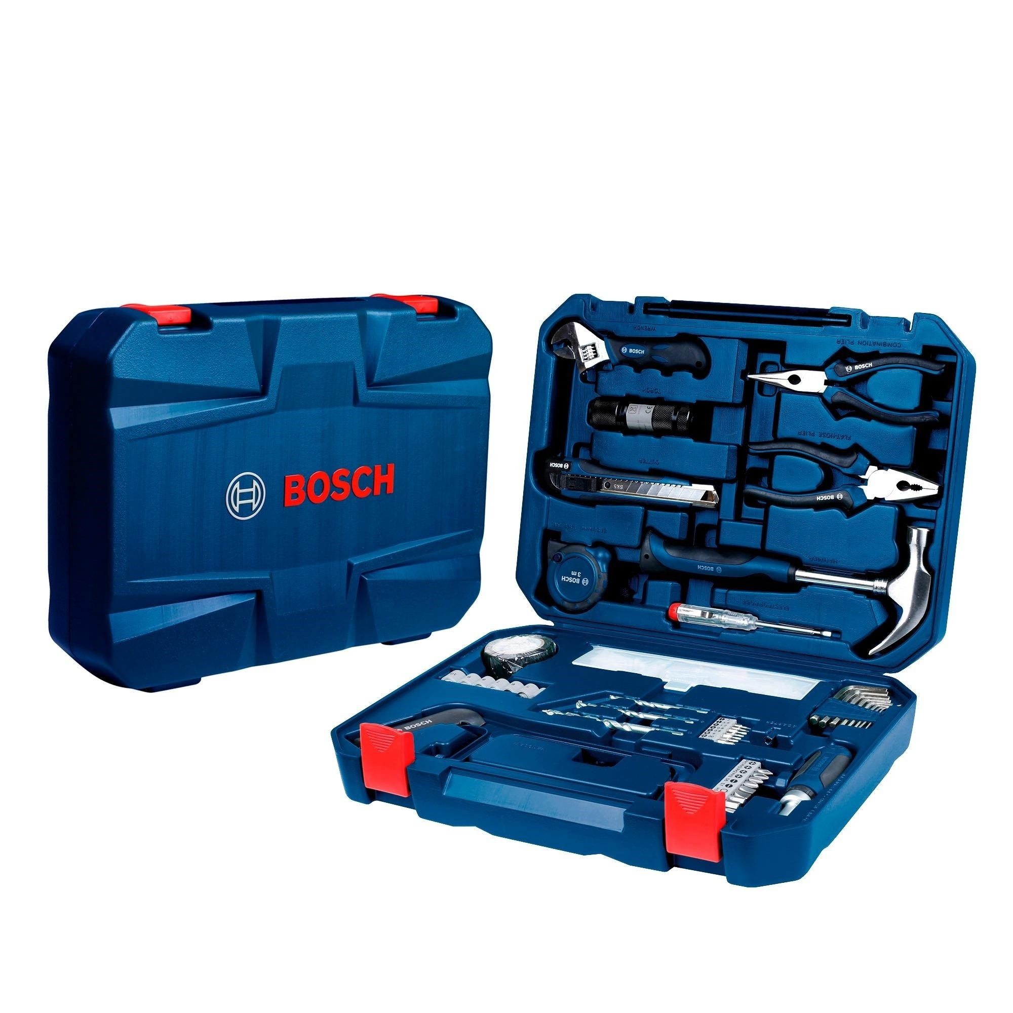 Coffret outils a main Mèches et embouts 108 Pieces