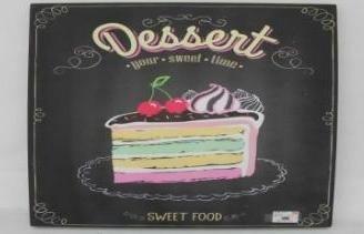 Tableau Décoratif - Dessert