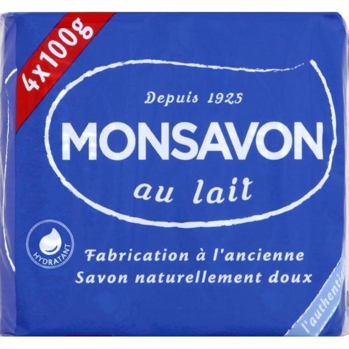 Savon a Main Monsavon Authentique 4pcs 100G