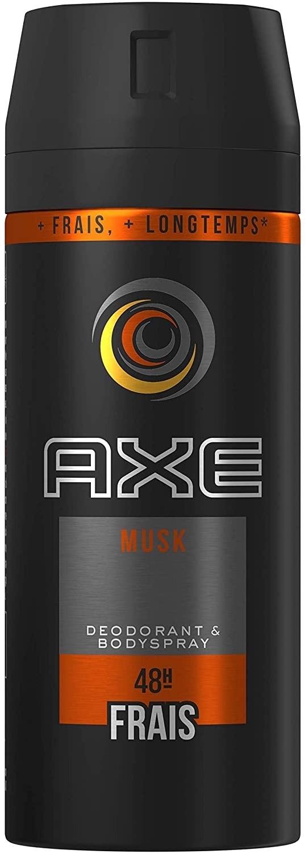 Déodorant spray AXE musk 48H 150 m