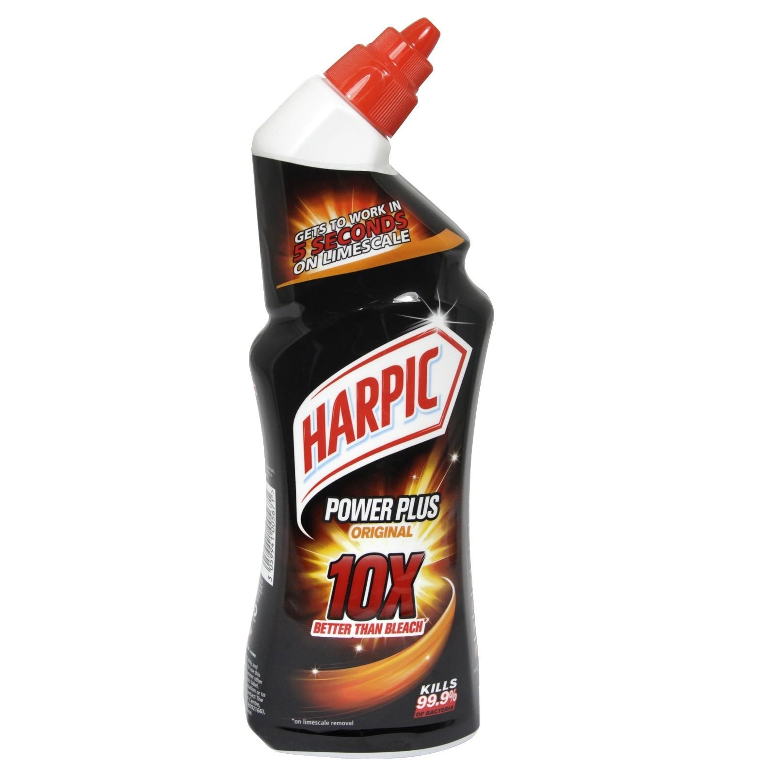 Gel wc harpic power plus original 750ml
