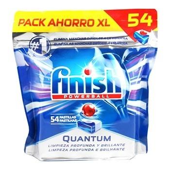 Finish Power Ball Quantium 54 Pastillas