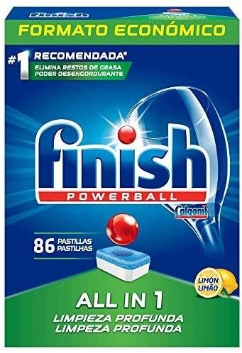 Finish Power Ball 86 Pastillas