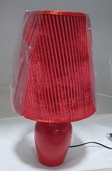Lampe de Table 1xE27 Rouge 9-15