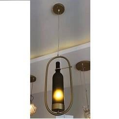 Suspension Décoratif bouteille en verre une pcs 8872/1H