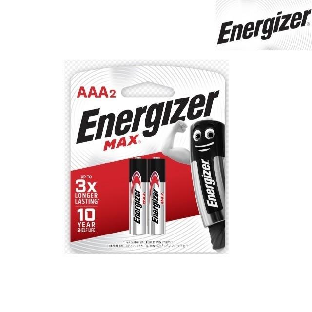 Piles Energizer Max E92 BP2 AAA-2 (0157)