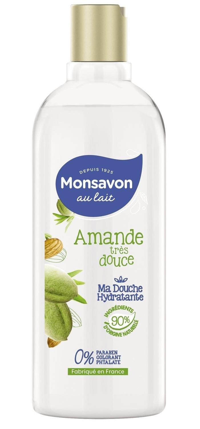 Gel douche Monsavon amande 300 ml