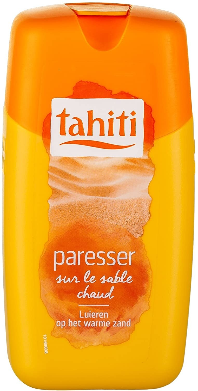 Gel douche Tahiti paresser 250 ml