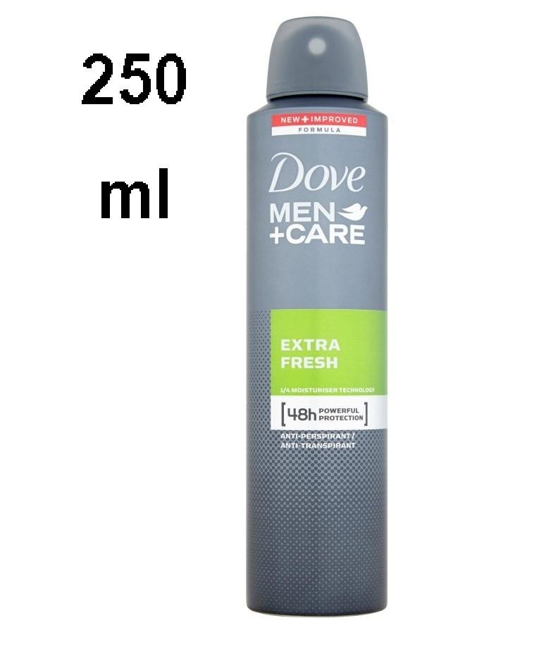 Déodorant Spray Dove Men extra Fresh 250 ml