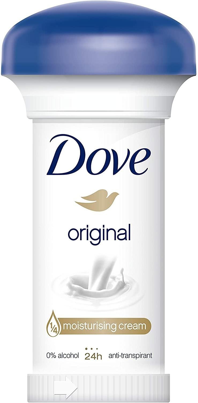 Déodorant Stick Dove Crème original 24h parabole 50ml