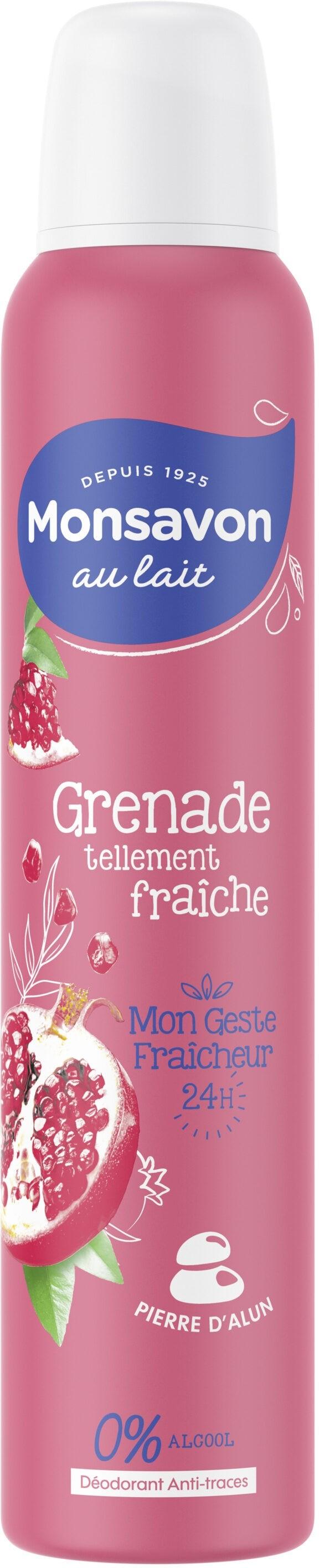 Déodorant Spray Mon savon Grenade 200ml