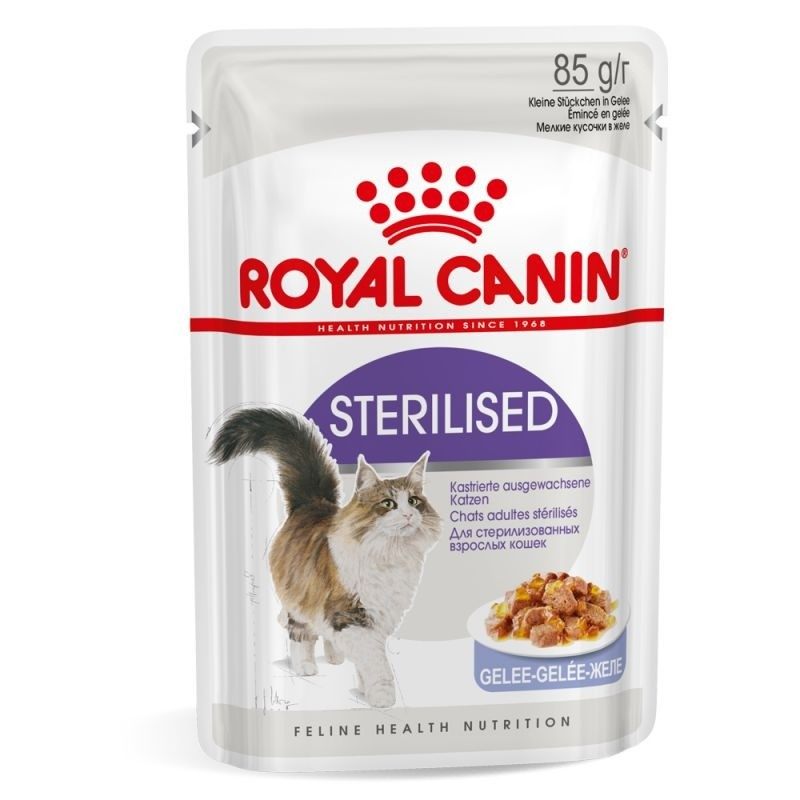 Croquettes Chat Sterilised 85g