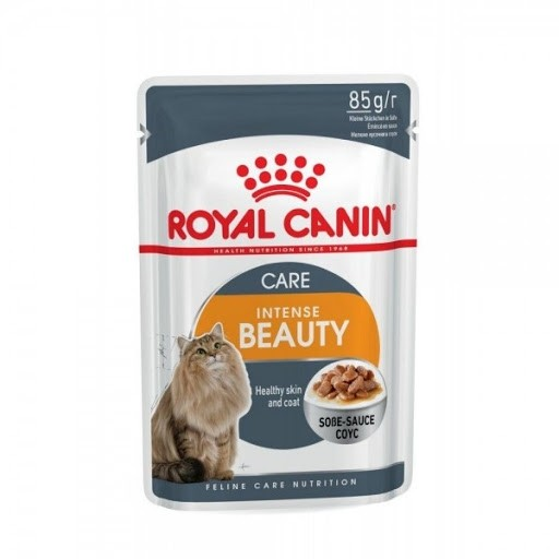 Croquettes Chat INTENSE BEAUTY 85G HUMIDE