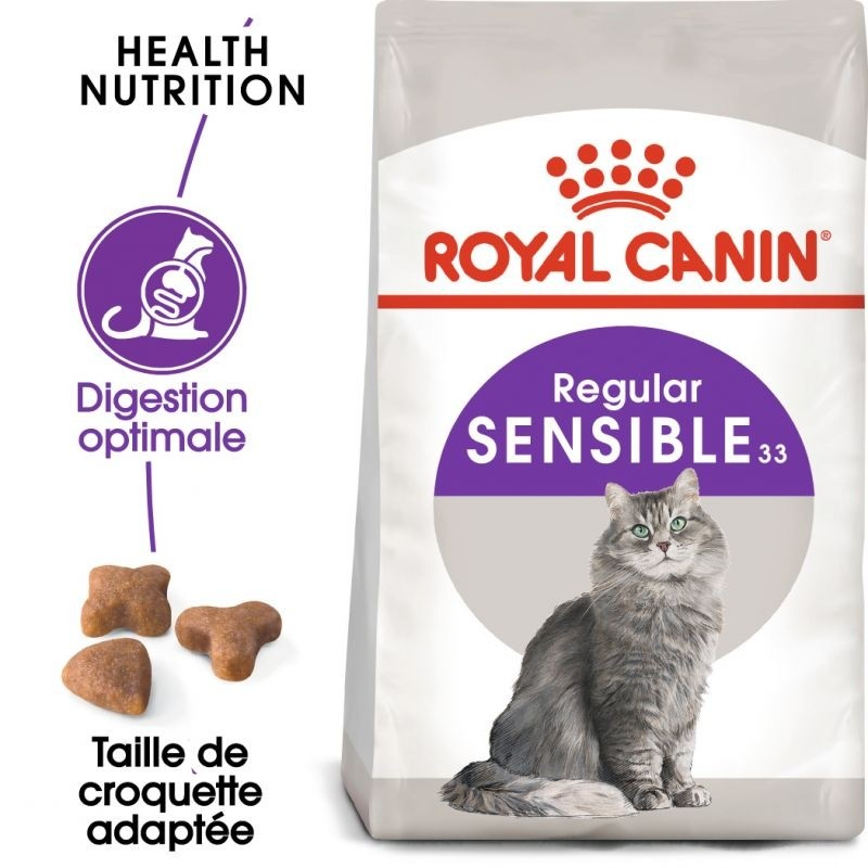 Croquettes Chat Sensible 400g