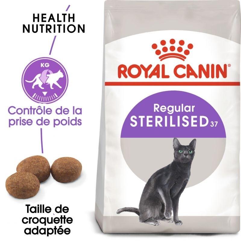 Croquettes Chat Sterilised 2kg