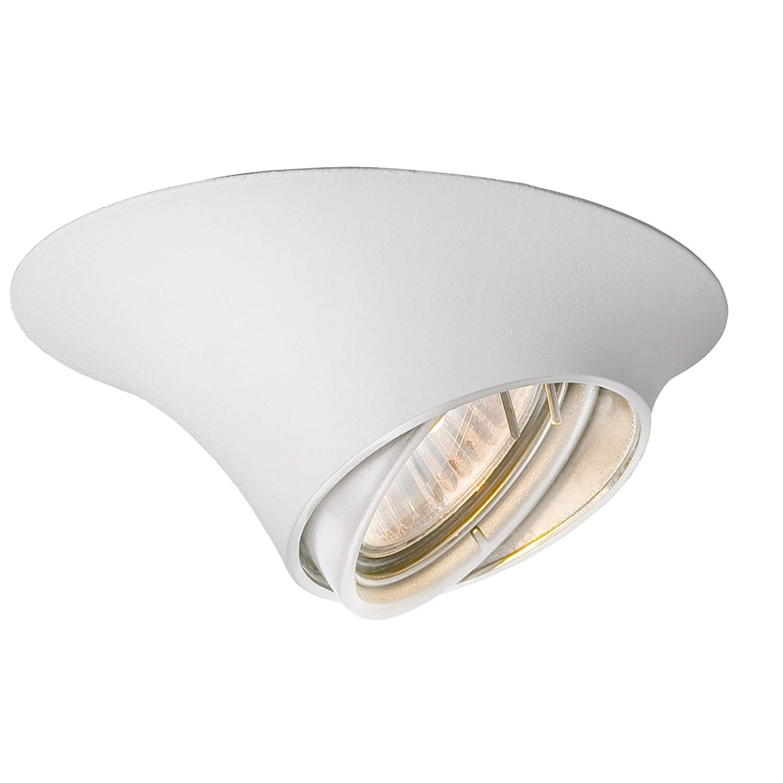 Électricité - Luminaire Plafond - Spot Blanc avec Lampe