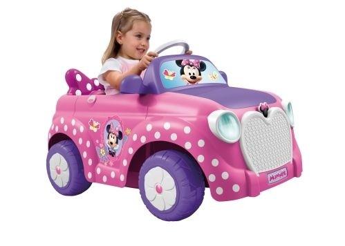 MINNIE CAR 6V - Voiture Électrique Enfant