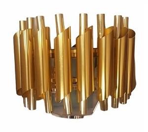 Applique Dore 250xh280mm L1 Ampoule