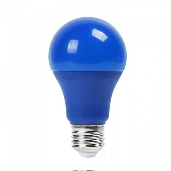 Lampe A60 LED 3W E27 Bleu