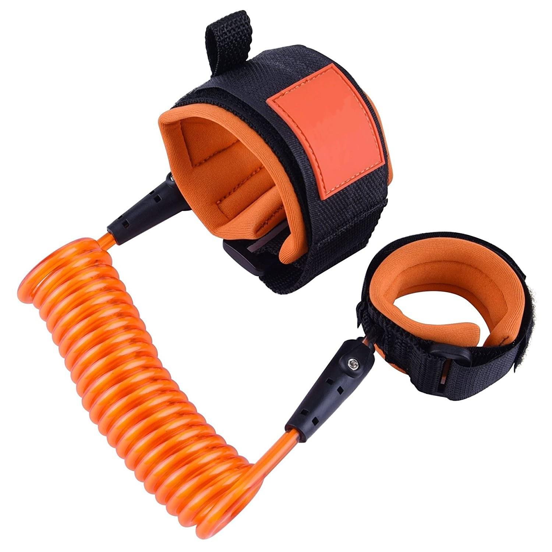 Bracelet Anti-Perte D'Enfant Orange