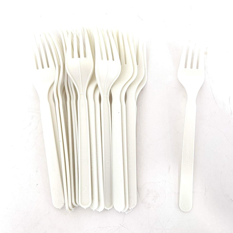 Fourchette en Plastique Jetable