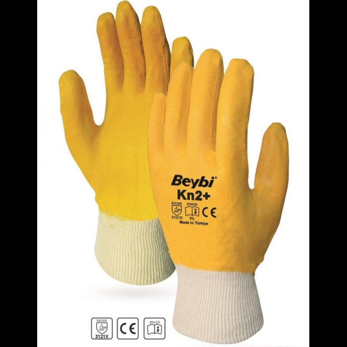 Gant jaune kn2+beybi