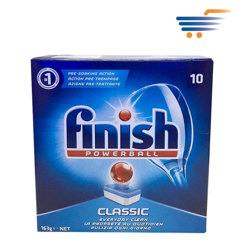 Finish  Lessive Pastille  Classic 163g 10 PCS