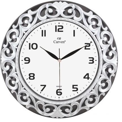 Horloge Décorative Grise