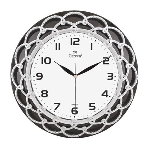 Horloge Décorative Grise et Noir