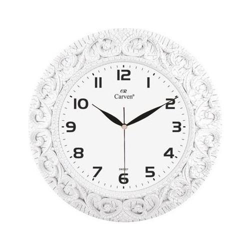 Horloge Murale Décorative Ronde Blanche