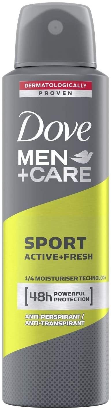 Déodorant spray Dove Men sport Active Fresh 48H 250 ml