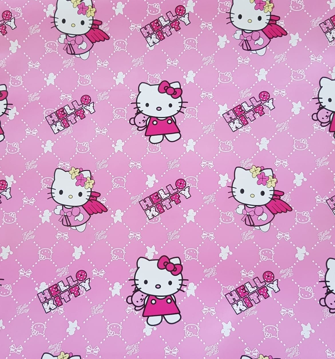 Papier Adhesif Decoratif HANYI Motif Hello kitty