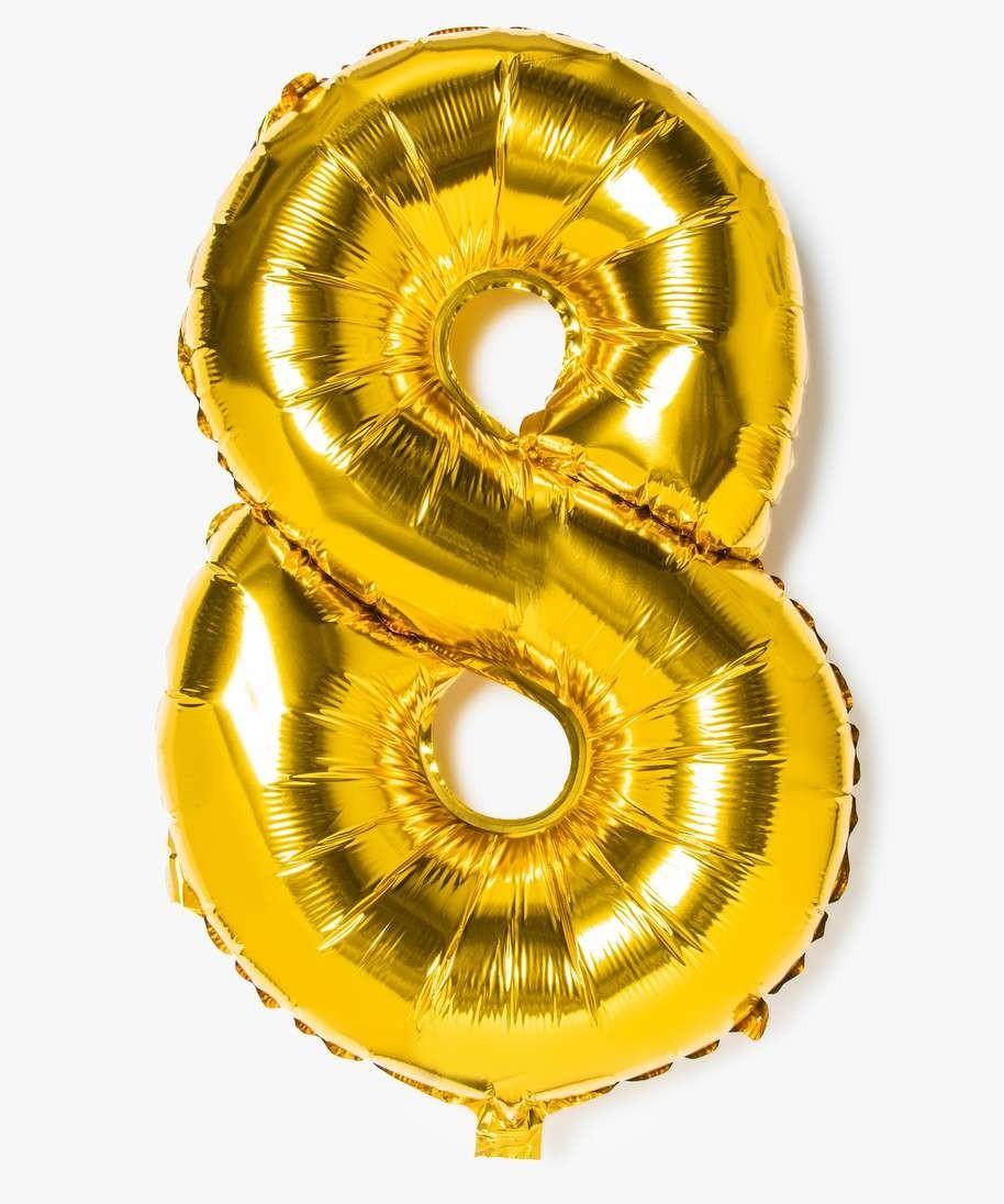 Ballon Gonflable Forme Chiffre 8