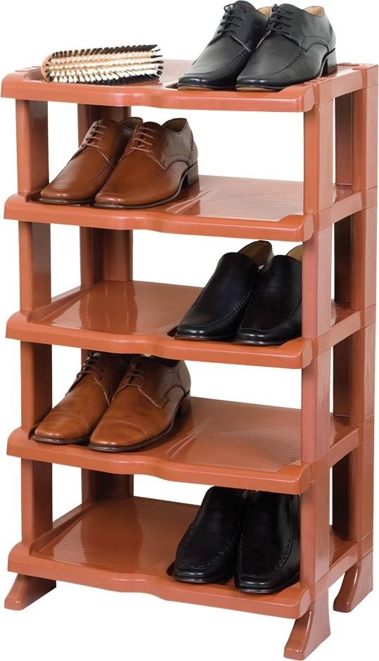 Étagère à Chaussures Marron
