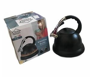 Bouilloire en inox noir 3.2L