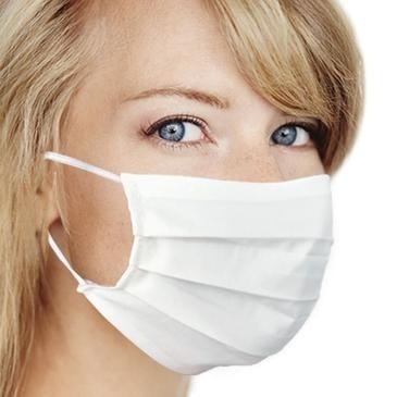 Masque de Protection en Cotton Blanc