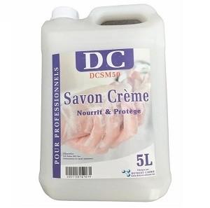 Savon Main Crème Nourrit et Protège 5L