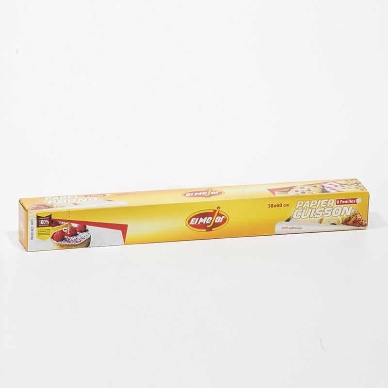 El Mejor Papier Cuisson 8 Feuilles 38x60 CM