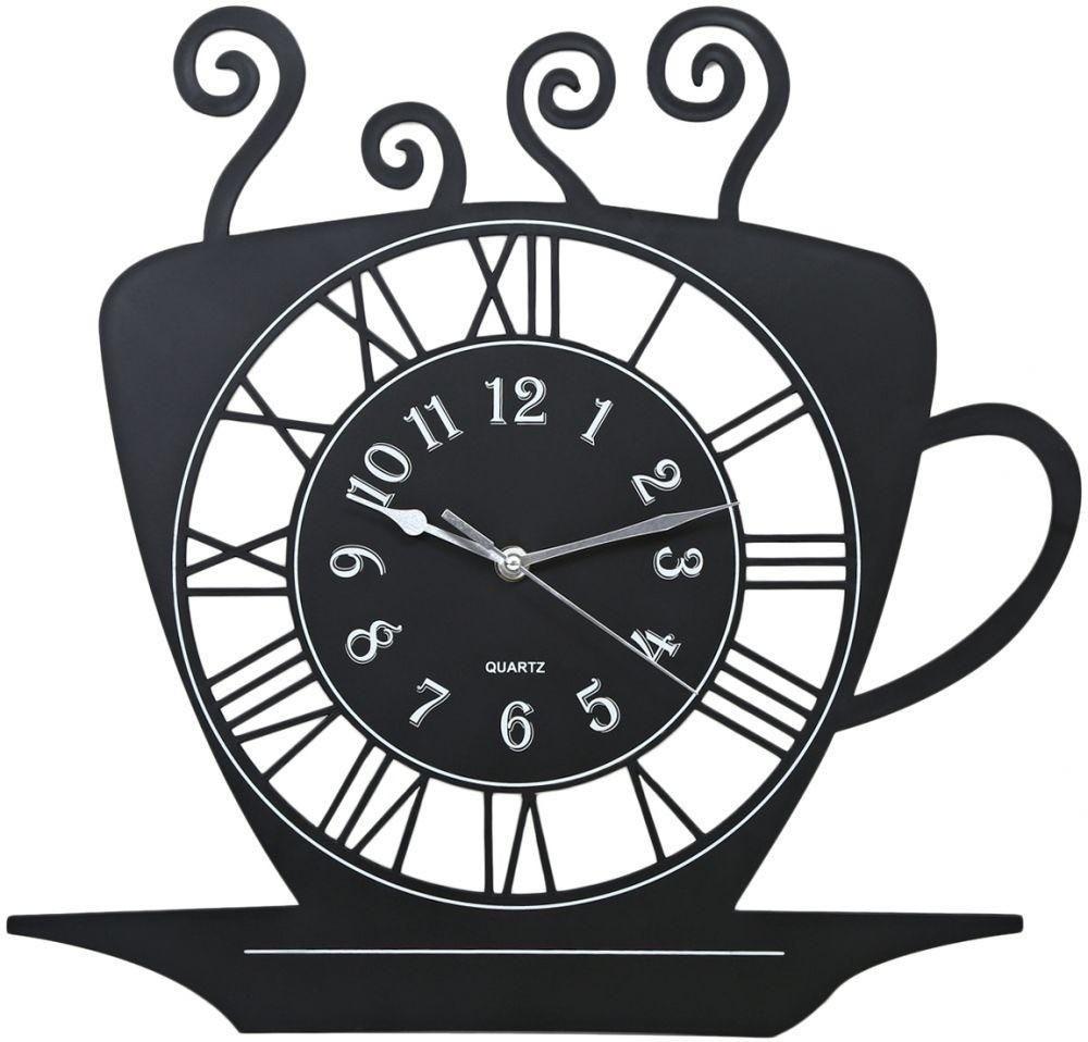 Horloge Décorative Murale en Tasse de Café