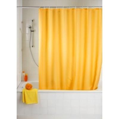 Rideau douche 180x180cm jaune