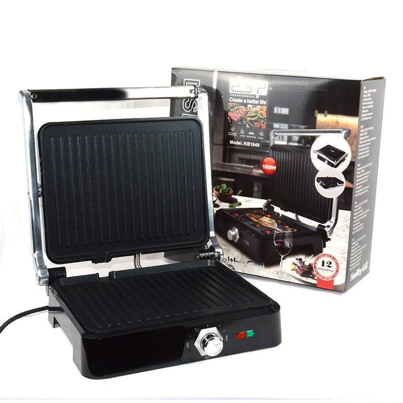 Panini Electrique  Sandwich Maker Grill Meat Hamburger  KB1049