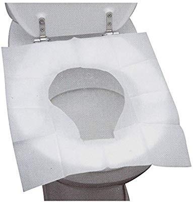 Housse de Siège de Toilette Jetable 10 pièces