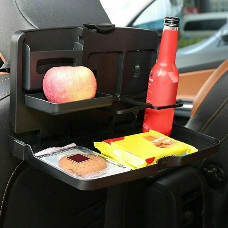 Plateau pliable de repas pour siege arriere de voiture