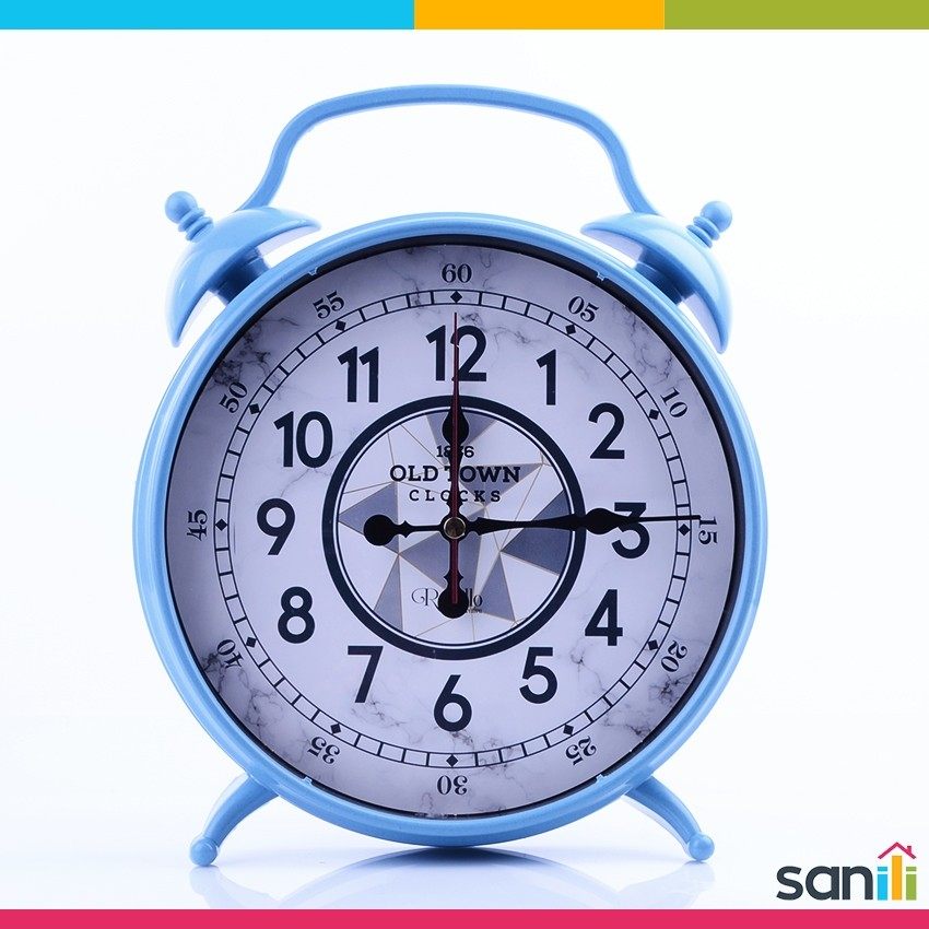 Horloge Sur Pieds Masa Saati Bleu