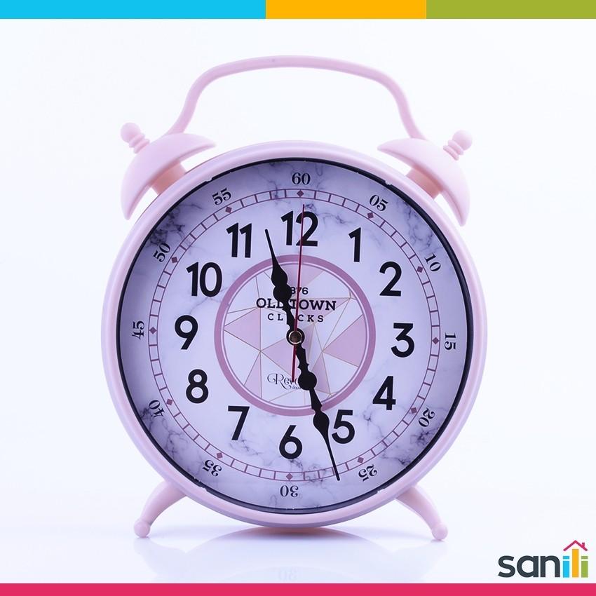 Horloge Sur Pieds Masa Saati Rose