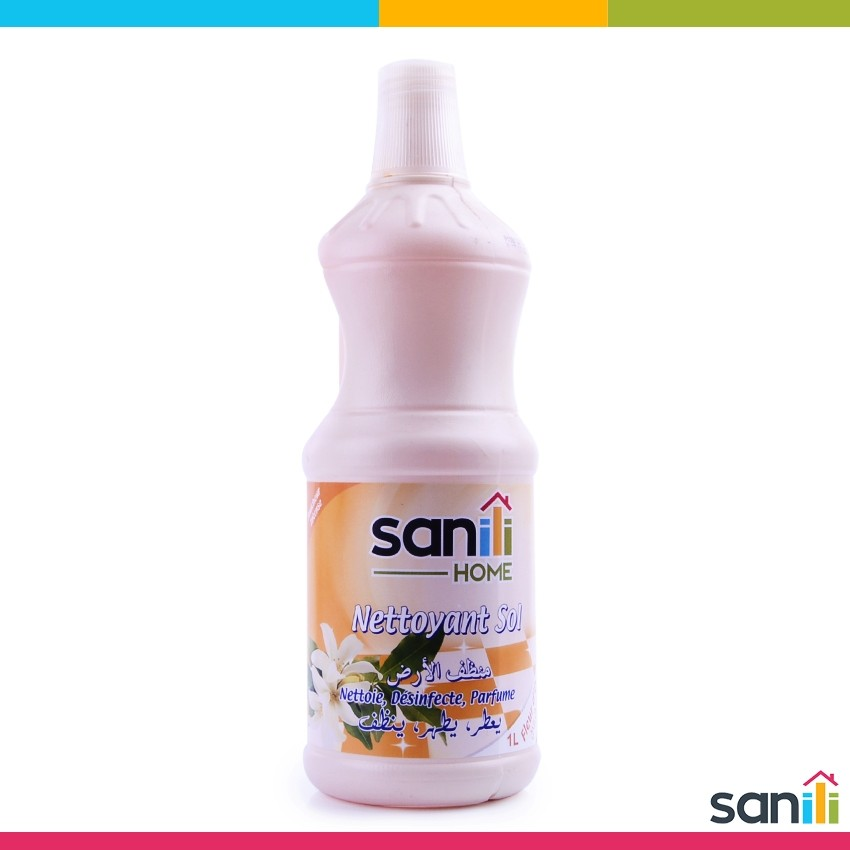 Nettoyant Sol 1L Sanili Fleur d'Oranger