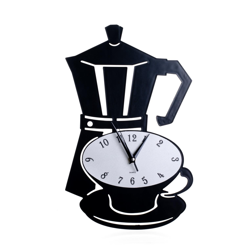 Horloge Décorative Cuisine Cafetière